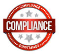 Compliance seal Stock Images
