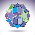 Complicated Kaleidoscope 3d Sp...