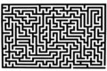 Complicated labyrinth