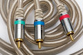 Component video cable Stock Images