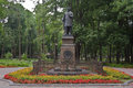 Composer glinka monument smolensk russia in the central park Stock Images