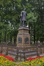 Composer glinka monument smolensk russia in the central park Royalty Free Stock Photos