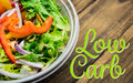 Composite image of low carb Royalty Free Stock Photo