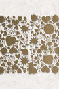 Composite image of valentines pattern Royalty Free Stock Photo