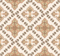 Composite seamless pattern in brown shades Royalty Free Stock Photo