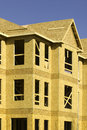 Composite wood sheathing  Royalty Free Stock Images