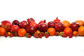 Composition of citrus fruits Stock Image