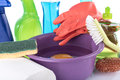 Composition of cleaning equipment