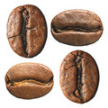 Composition of coffee beans Stock Images