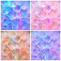 Composition - Colorful Pastel Background - abstract dandelion flower Royalty Free Stock Photo