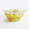 Compote of gooseberries Royalty Free Stock Image