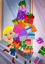 image photo : Overload Shopping