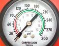 Compression testing tool Stock Photos