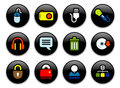 Computer Buttons Royalty Free Stock Photography