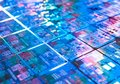 Computer circuit board background microchip texture Royalty Free Stock Photo