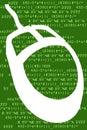 Computer-Code u. Maus Lizenzfreie Stockfotos