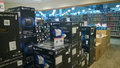 Computer equipment and peripherals selling at micro center usa Stock Photography