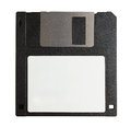 Computer floppy disk isolated on white background Stock Photo