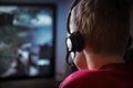 Computer Gaming Royalty Free Stock Photo