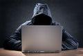 Počítač průnikář kradnutie dáta prenosný počítač