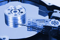 Computer hard disk technology background Royalty Free Stock Photography