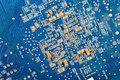 Computer Hardware Motherboard Royalty Free Stock Photo
