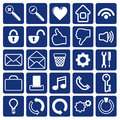 Computer Icon  Collection Original Illustration Stock Image