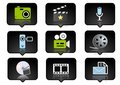 Computer icons set 2 Royalty Free Stock Photography