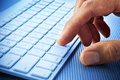Photo : Computer Keyboard Hand Finger  use