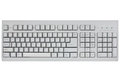 Computer keyboard isolated on a white Royalty Free Stock Photography