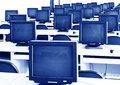 Computer Lab Royalty Free Stock Photo