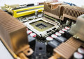 Computer Mother Board Royalty Free Stock Photo