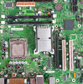 Computer Motherboard, Printed Circuit Board Royalty Free Stock Photo