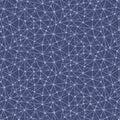 Computer network seamless pattern Royalty Free Stock Photo
