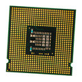 Computer processor chip (CPU) Royalty Free Stock Photo