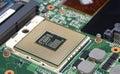 Computer processor cpu Royalty Free Stock Photo