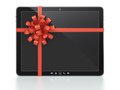 Computer tablet gift Royalty Free Stock Photography