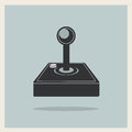 Computer Video Game Joystick Vector Royalty Free Stock Photo