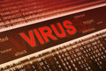 Computer virus detection Stock Photo