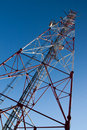 Comunication antenna Royalty Free Stock Photography