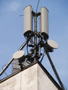 Comunication antenna Stock Images