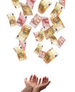 Conceito europeu da moeda Imagem de Stock
