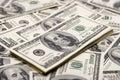 Conceitos da prosperidade - cem dólares Imagens de Stock