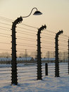Concentration camp Royalty Free Stock Image