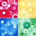 Concentric circles Stock Photography