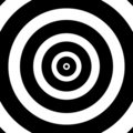 Concentric Circles Target Royalty Free Stock Photos