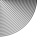 Concentric rings, circles pattern. Circles background pattern. Royalty Free Stock Photo