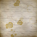 Concept background with dirty coffee stains Stock Photos