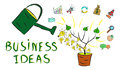 Concept of business ideas