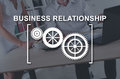 stock image of  Concept of business relationship